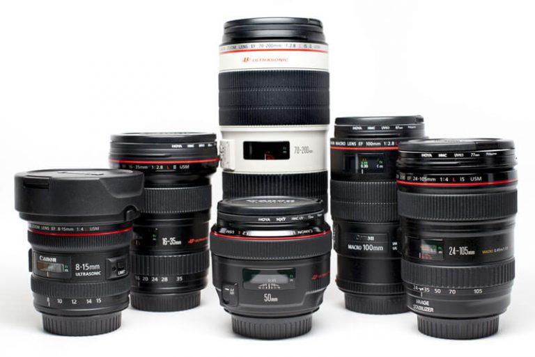 Interchangeable Lenses for DSLR camera