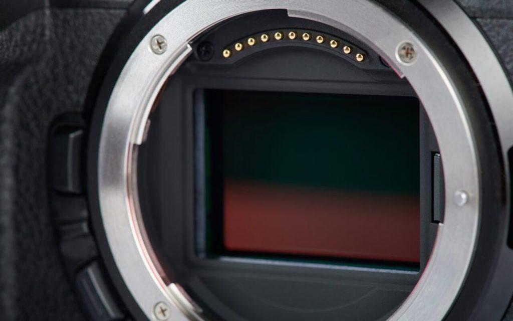 Camera sensor size