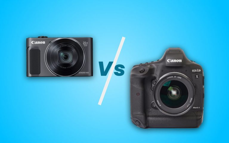 Difference between Cheap and Expensive camera