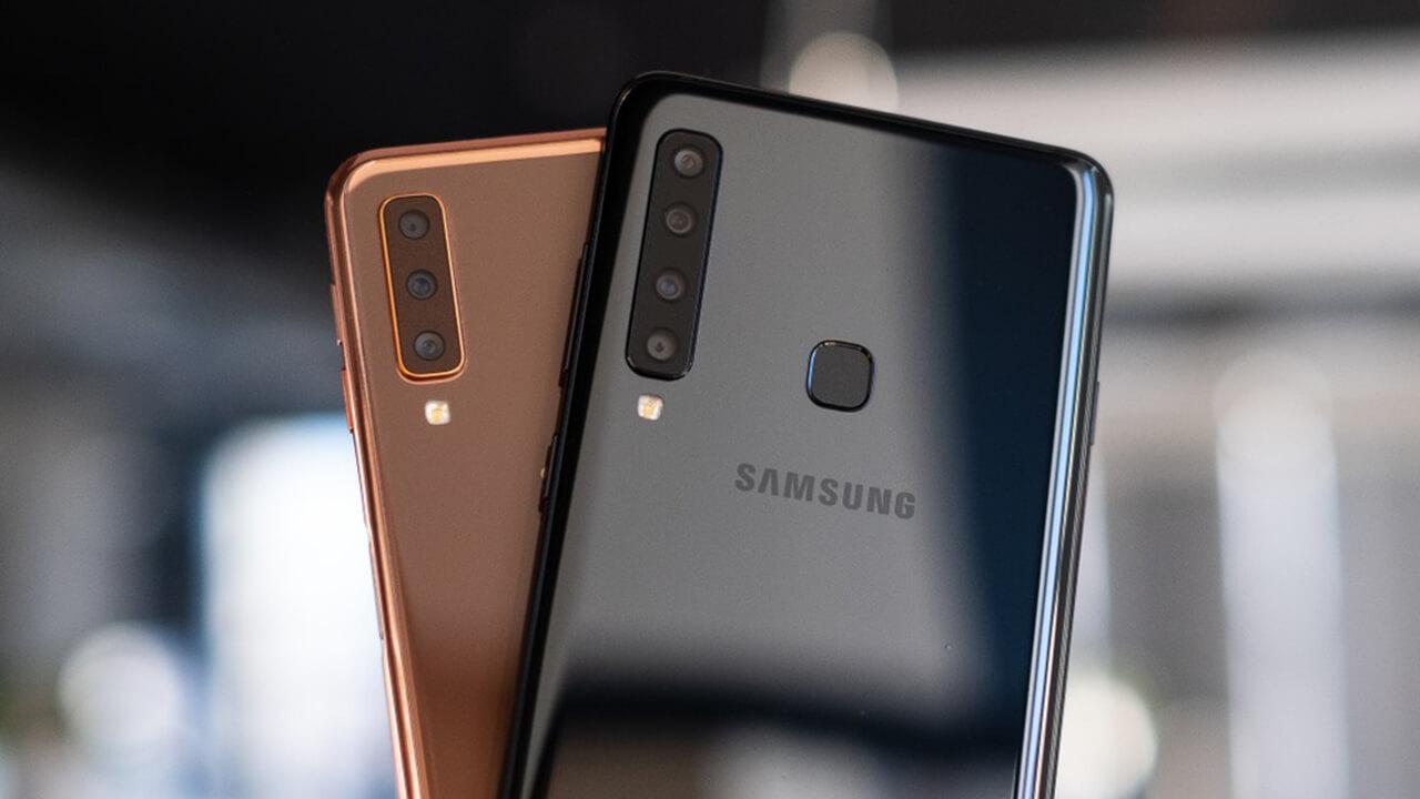 Samsung Galaxy A9 and A7