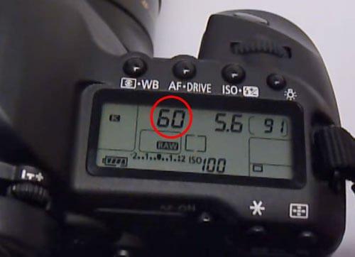 Shutter-speed-adjust